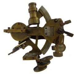 "Nautical Marine Brass Sextant Heavy 5"""