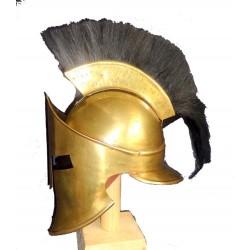 Greek 300 Sparton Medieval Armour Helmet W Plume