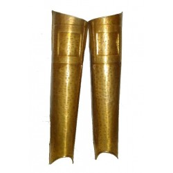 Brass 300 Movie Spartan Leg Guard set