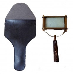 Square Magnifier WOOD HANDLE Magnifying
