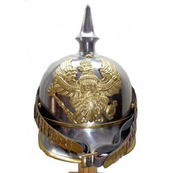 Model 1862 Prussian Kürassier Metalhelme Pickelhaube