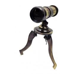 Antique Brass Mini Tripod Telescope