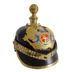 Peninsular Bandeaux Landwehr Pickelhaube Helmet