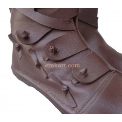 Medieval High Boots