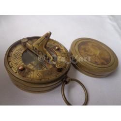 Brass Australia Penny Sundial Compass
