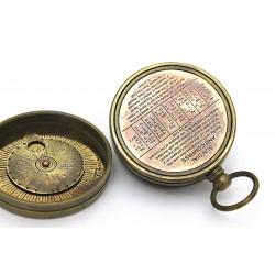 Brass Dollond London Sundial Compass