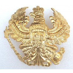 Pickelhaube Brass FR Badge