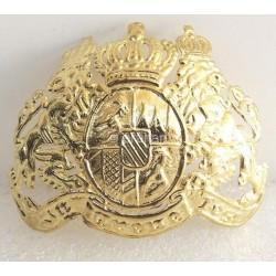 Bavarian Bayern Wappen Frantplate Pickelhaube Badge