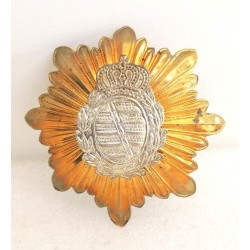 Sachsen Wappen for German Pickelhaube Badge
