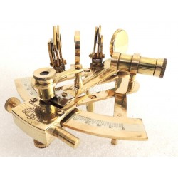 Brass Sextant Ship Nautical 4 inch