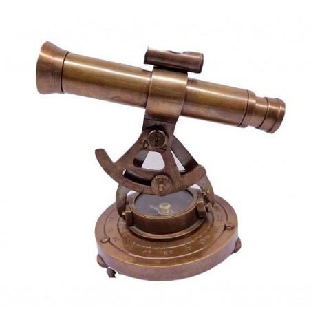 Brass Alidade compass