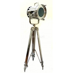 Spotlight Floor Lamp on metal tripod