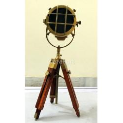 Royal Antique Mini Spotlight Lamp Tripod Decor