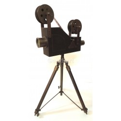 Tripod Antique Vintage Style Movie Reel Photography Film Decor