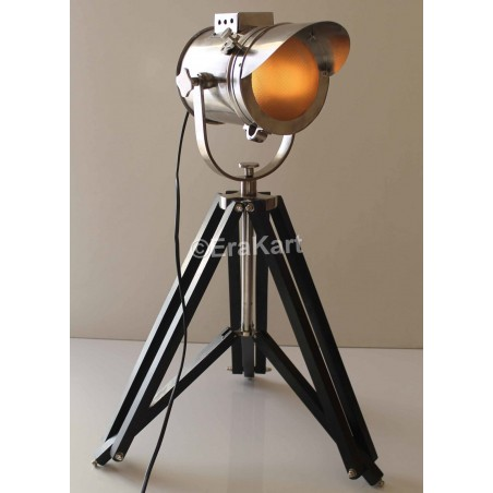 Vintage Cap Style Nautical Spotlight Antique Floor Lamp