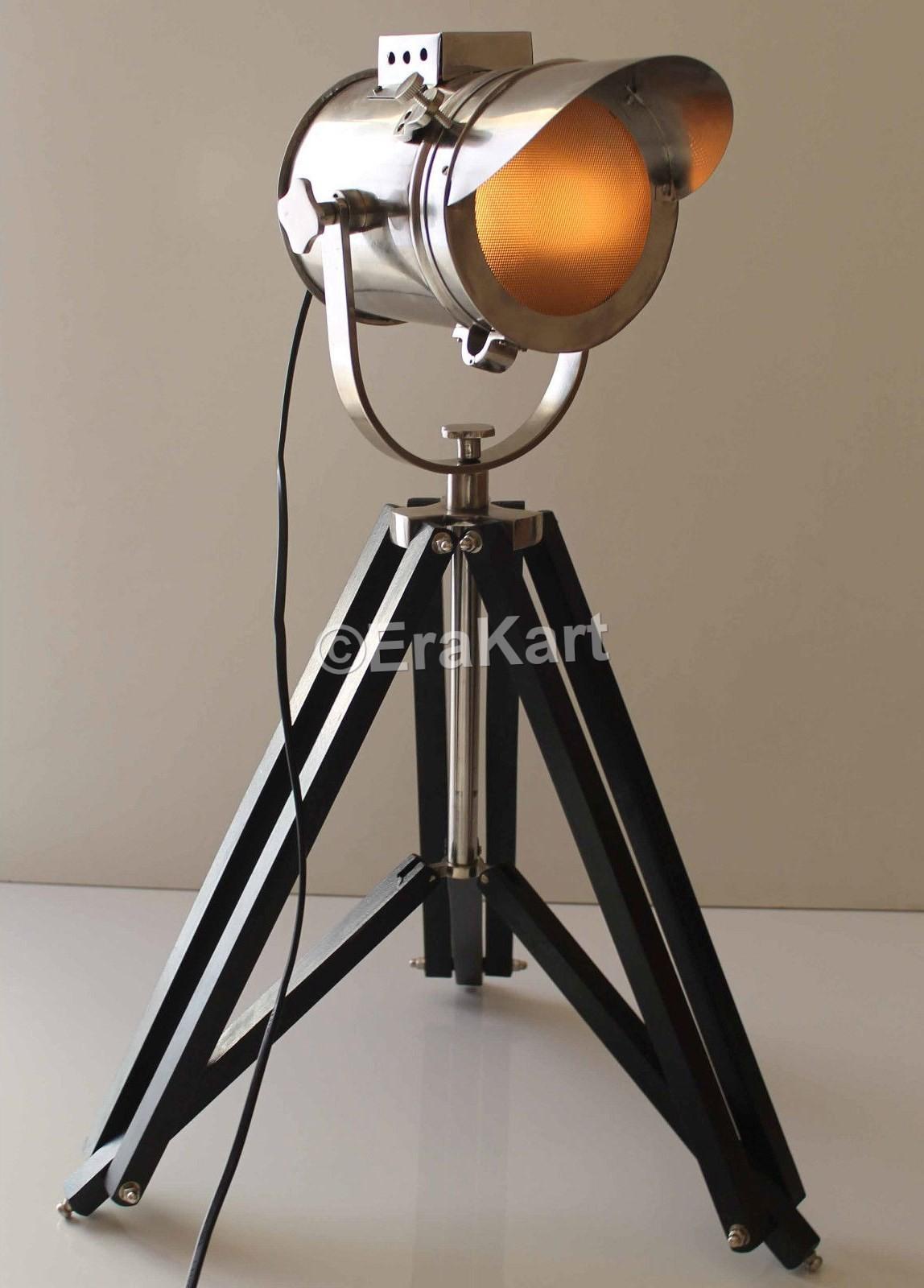 Royal master sealight floor lamp - Vintage Cap Style Nautical Spotlight Antique Floor Lamp
