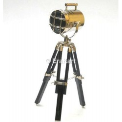 Vintage Hollywood Tripod Lamp Spotlight
