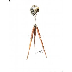 Marconi Spotlight on Tripod Floor Lamp