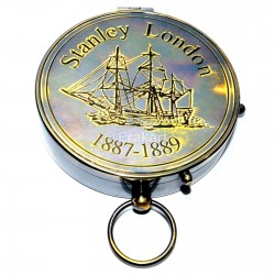 BRASS COMPASS ANTIQUE COMPASS 1887 VINTAGE STYEL COMPASS NAUTICAL COMPASS GIFT