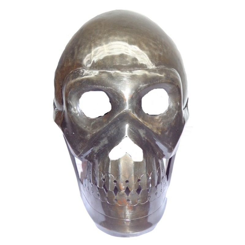 Buy Antique Armour Skull Skeleton Helmet Larp On Sale
