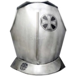 Templar Knight Armor Breastplate with Templar Maltese Cross by Marto of Toledo Spain