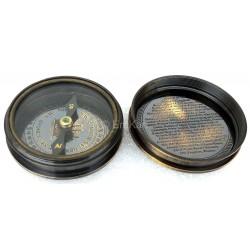 Brass Queen Victoria Compass