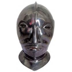 Medieval Armour Helm Helmet With Face-Mask Visor