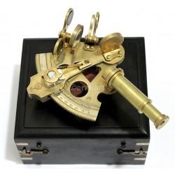 "3"" Nautical Astrolabe - BRASS SEXTANT"