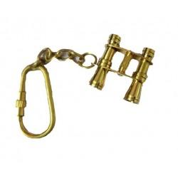 Nautical Brass Binocular Keychain