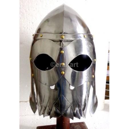 Viking Warlord skull helmet