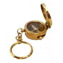 Nautical Compass Pocket Key Chain
