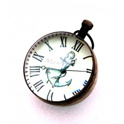 Brass Antique Pocket Ball Watch