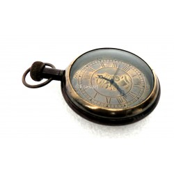 Antique Maritime Pocket Watch CLock