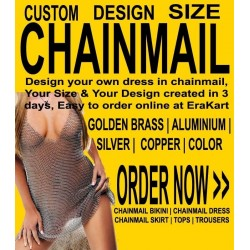 Custom Chainmail dress & bikini for ladies