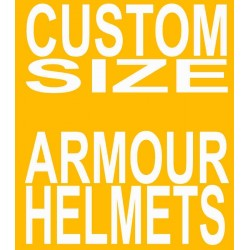 Armour Helmet in Custom Size