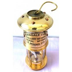 BRASS NAUTICAL SHIP LAMP OR COAL MINOR LAMP