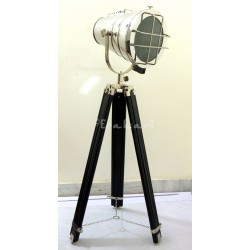 Grill Look Classy Decor Telescopic Tripod Floor Spot Lamp