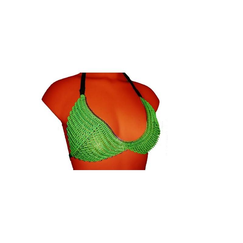 Green Chainmaille Bikini