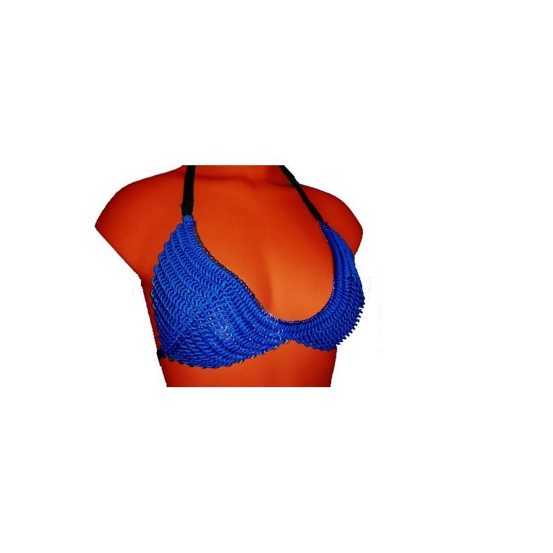 Blue Chainmail Bikini