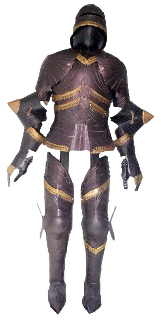 Buy Miniature Gothic Armour Suit Medieval Display Online