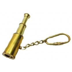 Nautical Brass Telescope Pocket Key Chain