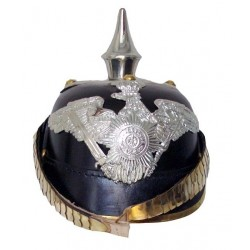 German Leather Pickelhaube Prussia Garde Helmet