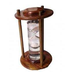 Antique Wooden Liquid Sand Timer