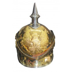 German Pickelhaube Prussia FR Steel Helmet