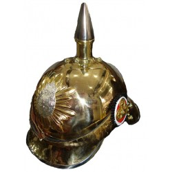 German Pickelhaube Saxon Steel Helmet