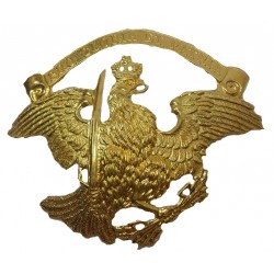 Pickelhaube Brass Eagle Badge