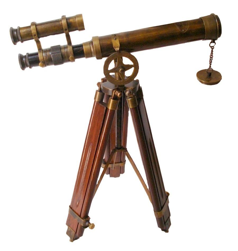 Brass Telescope Buy Double Barrel Telescope Spyglass At