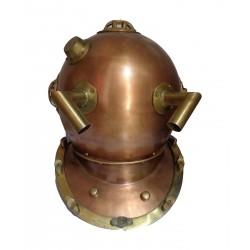 Copper Diver's Helmet Diving Marine Reproduction