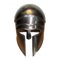 Black Greek Ancient Corinthian Helmet