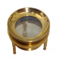 Brass Stand Map Magnifier